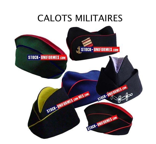 Calot militaire - calot toutes armes et tous grades