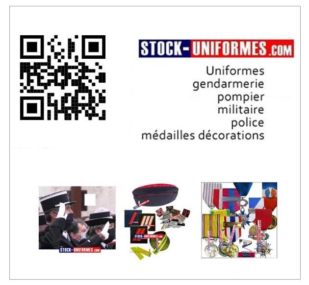 Uniformes et équipements Gendarmerie - Militaire - Pompier - Police - Sécurité privée