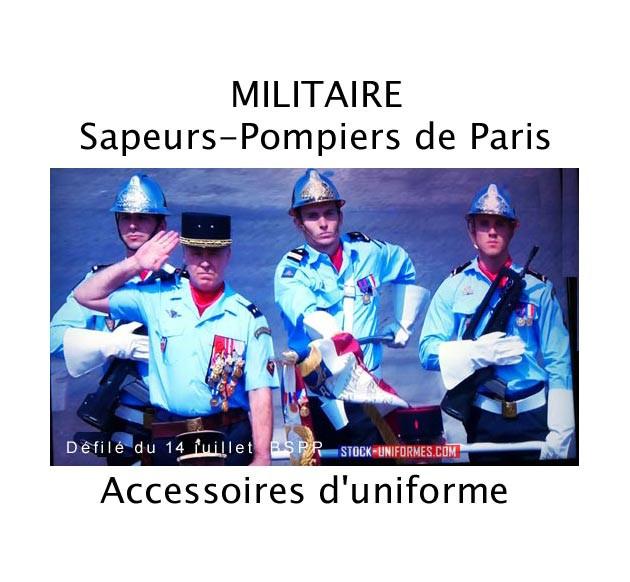 Accessoires d'uniforme Sapeurs-Pompiers de Paris - BSPP