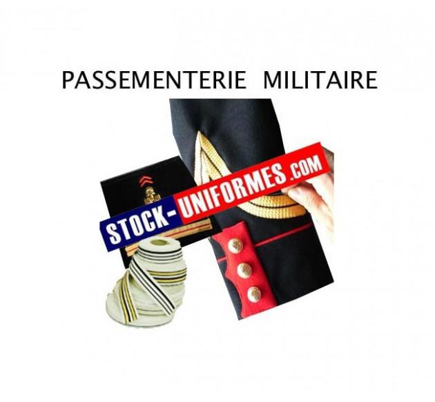 Passementerie militaire - galon au mètre
