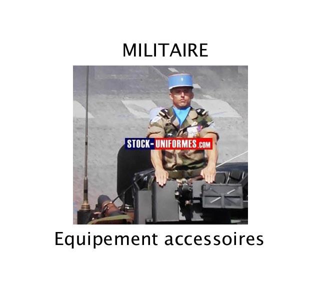 Equipements Militaires - treillis camouflage - bérets et insignes - chemise f1 - blouson - rangers -