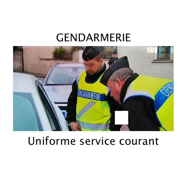 Gendarmerie uniformes équipements - képi - galons - écussons - opj - pantalon - chemise - chaussures